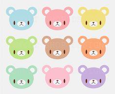 Coloured Bears