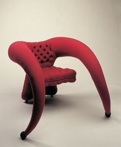 SIT ON A  JESTER's THRONE--Funky chair by Christopher Moulder