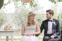 Romantische Sommerhochzeit im Garten - Hanna Witte - Hochzeitsblog Fräulein K. Sagt Ja - Partyshop