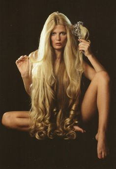 Woman too sexy Debra Jo Fondren Beautiful Blonde Hair, Long Blond, Very Long Hair, Silky Hair, Big Hair, Hair Goals, Girl Hairstyles, Hair Inspiration, Hair Beauty