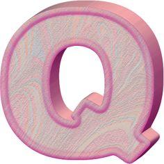 Presentation Alphabets: Birthday Cake Letter Q