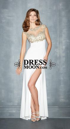 I like this - Sexy Scoop Chiffon and Beading Evening Dress. Do you think I should buy it?