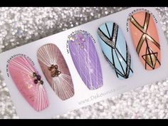 Diana Diaz, Gel Nail Art Designs, Nail Art Diy, Beauty Nails, Gel Nails, English Channel, Spider, Make It Yourself, Hairstyles