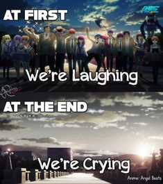 Another feels :( Anime:angel beats