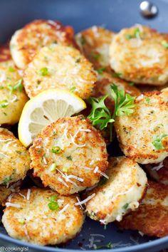 Potato Parmesan Cakes