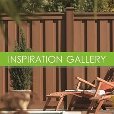 Ideas for fencing using composite fence panels  available at the Trex…