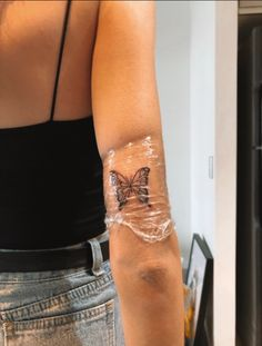 my butterfly tattoo 🦋 - Tattoo ideen - - my butt. - my butterfly tattoo 🦋 – Tattoo ideen – – my butterfly tattoo - Dainty Tattoos, Pretty Tattoos, Beautiful Tattoos, Small Tattoos, Little Tattoos, Mini Tattoos, Body Art Tattoos, Tatoos, Ribbon Tattoos
