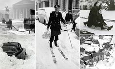 Stunning vintage photos of frozen Britain from the 1900s to 1960s