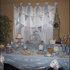 Dylan's Cinderella party.
