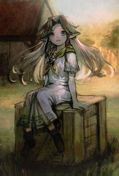 The Legend of Zelda: Majora's Mask, Romani / 「ロマニー」/「aoki」のイラスト [pixiv]
