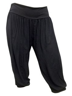 Cropped Harem Pants - $29 Sizes: 14-28 #plussize #curvaceouscouture  www.curvaceouscouture.com.au