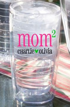 I really like tumblers so this would work :)