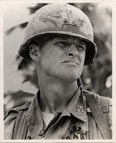 """LT. COL. HAL MOORE  AFTER THE BATTLE OF LA DRANG Just before we left, we stood looking at each other … and the tears were coming down our cheeks. I told Joe, """"I want you to go back to Saigon and tell the American people what great Soldiers these are. Tell them what a great job they did and what a great Army we have"""