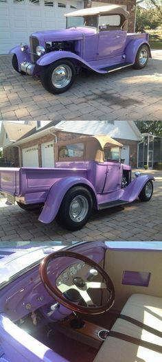 Vintage Trucks For Sale, Custom Trucks For Sale, Braided Line, Hot Rods, Ford