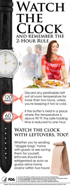 Tips for Food Safety When Entertaining ~ via Kitchen Science, Life Science, Healthy Nutrition, Fitness Nutrition, Healthy Eating, Health Tips, Health And Wellness, Food Safety Tips, Food Handling