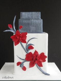 Striking and Unique Wedding Cake
