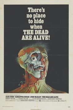 ILLUSTRATED HORROR FILM POSTERS | The Dead Are Alive (1972)