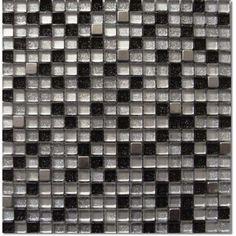 Halcon - mozaiki dekoracyjne CRISTAL METAL Gloss Squared (30x30 plaster)
