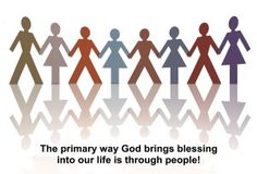 "You better like people! The primary way God brings blessing is through people. SHORT READ: ""The People Pill."""