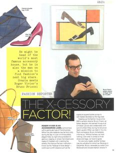 Fashion Fringe Accessories launched in Grazia (part 1)