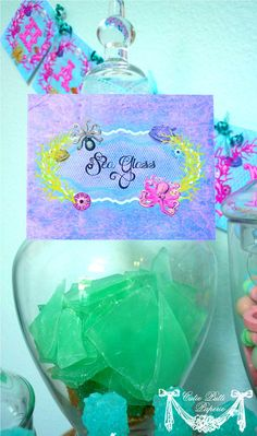 Mermaid Party Under The Sea Party  PRINTABLE BLANK by CutiePutti, $7.50
