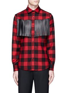 Whole World Shipping plaid shirt - Blue Valentino In China For Sale Cheap For Sale KDDDPY4t4