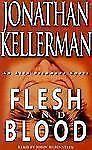 FLESH and BLOOD by Jonathan Kellerman -audiobook 2001 - 4 cassettes 6 hrs - EC