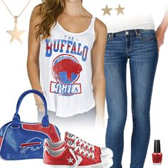 Buffalo Bills All Star Outfit