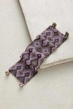 Serefina Beaded Metallic Bracelet