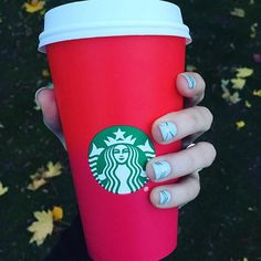 Pin for Later: 21 Signs You're Shamelessly Obsessed With Christmas You squeal like a 3-year-old girl when Starbucks red cups are released.