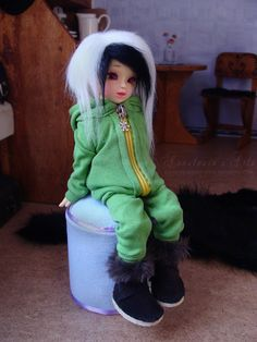ღ Hoodie and Pants for YOSD BJD - FREE PATTERNS