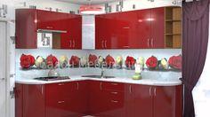 Red Kitchen Rote Küche