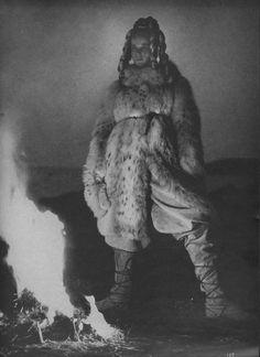 The Girl in the Fabulous Furs Verushka by Richard Avedon Vogue 1966 Editor: Diana Vreeland