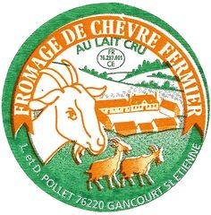 fromage de chèvre et cidre Normandia