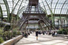 Chanel fashion show, Paris Fashion Week 2017/18, Grand Palais