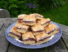 Gluten Free Coconut and Cherry Squares (A Gluten Free Guide to Picnics)
