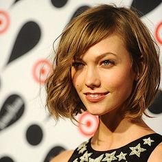 "Spring/Summer 2013 Hairstyle Trend: The ""Karlie"" Chop Haircut - Short, Mid Length Hair Of Model Karlie Kloss"