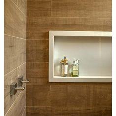 Banheiro com Nicho  Branco de Paula Ines Sizinando - Viva Decora