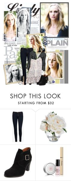 """""""Caroline Forbes - 5.11 """"500 Years of Solitude"""""""" by noseinanovel ❤ liked on Polyvore featuring J Brand, Diane James, Guerlain and Lazuli"""