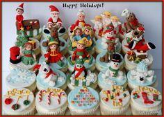 Very Christmassy Cupcakes - Cake by JoTakestheCake