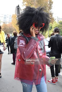 <a gi-track='captionPersonalityLinkClicked' href=/galleries/search?phrase=Julia+Sarr-Jamois&family=editorial&specificpeople=6243924 ng-click='$event.stopPropagation()'>Julia Sarr-Jamois</a> arrives at Dries Van Noten Fashion Show during Paris Fashion Week, Womenswear SS 2015 on September 24, 2014 in Paris, France.