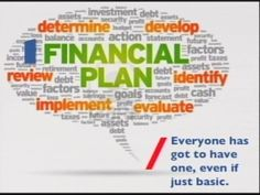 You have to have a FINANCIAL PLAN, even just the basic one. #AXA #FinancialPlan