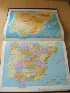 Je pouvais passer des heures à fouiner dans l'atlas de mon père!