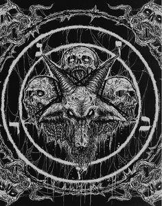 Kult ov Azazel / Teratism - In League with Satan (cover)