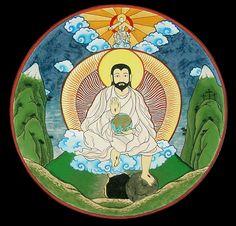 Mongolian Christian depiction of Jesus