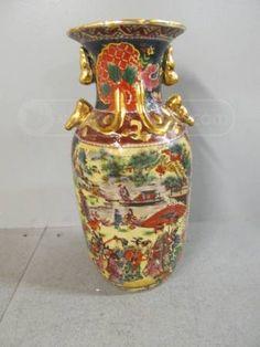shopgoodwill.com: Oriental Decorative Vase