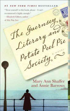 The Guernsey Literary and Potato Peel Pie Society: A Novel by Mary Ann Shaffer and Annie Barrows. In 1946, author Juliet Ashton befriends members of the Guernsey Literary and Potato Peel Pie Society. She learns of the existence of the secret book club in letters she exchanges with one its members. I recommend this book because it is a different format than most books and has a 'cozy' storyline as Juliet builds friendships among each character. It is a great read! - Christa