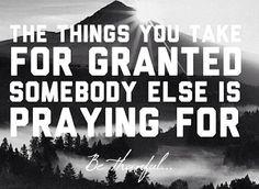 Humdilah for our blessings!