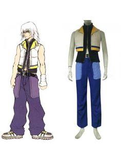 Kingdom Hearts 2 Riku Cosplay Outfits Costumes