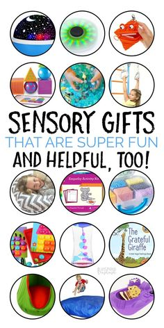 Seriously Fun Sensory Toys and Games - A B-Inspired Mama Gift Guide | Don't miss this Gift Guide full of fun sensory toys and games. These gifts are a WIN-WIN for all! Fun for the child and great for their sensory system too! #sensory #gifts #giftguide #holidays #christmas #shopping #kbn #kbnmoms #spd #asd #autism  via @binspiredmama